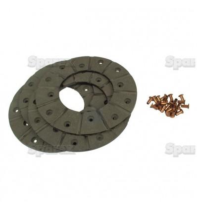 Kit de garnitures de frein 165mm 3010152R92