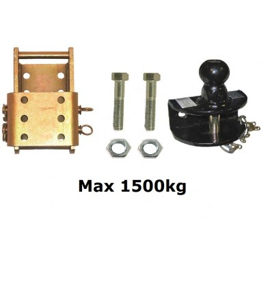 Tow bar and drop plate 1500KG