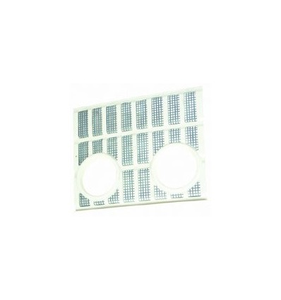 Plastic Grille With Light Holes 81824198, D1NN8151B