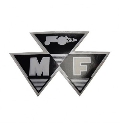 Autocollant Massey Ferguson 90x56mm