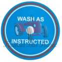 "Decal Ferguson TEF20, FF30 "" Wash as instructed"""