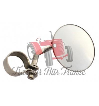 Rétroviseur avec collier pour montage sur échappement