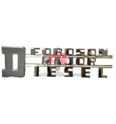 Emblème Fordson Major Diesel