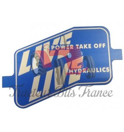 Badge/Emblème Live Drive Fordson