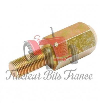 Adaptateur pour roues jumelées 5/8UNF mâle/femelle