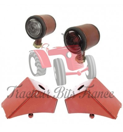 Pair Of Butler Side Lights with brackets