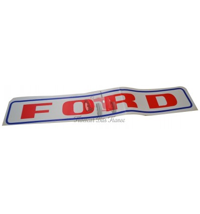 Ford Cab Roof Decal