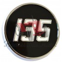 MF135 Metal Side Badge Chrome & Painted