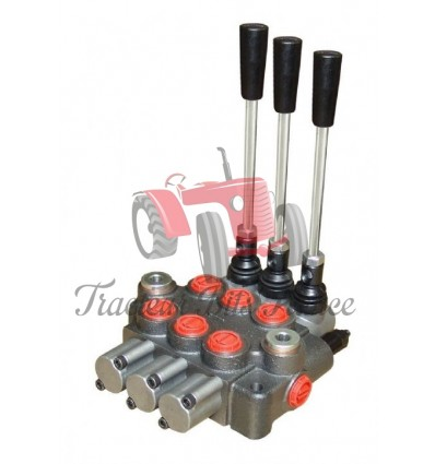 Hydraulic control valve - 3 spool