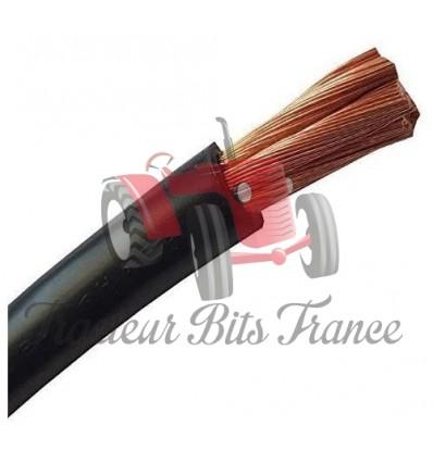 Câble de batterie 1 m - Noir - 35 mm² - 100 % cuivre