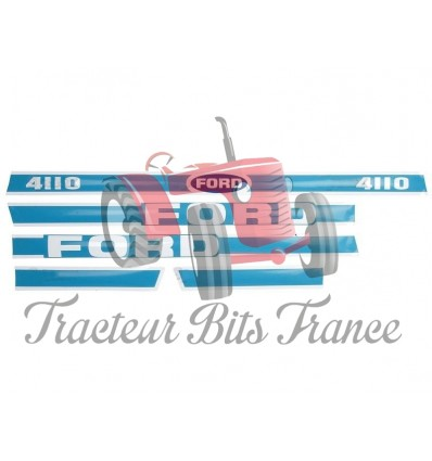 Ford 4110 Decal Set