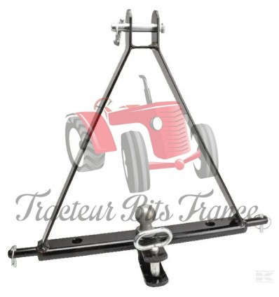 Towing A Frame for Small Tractors with Hitch
