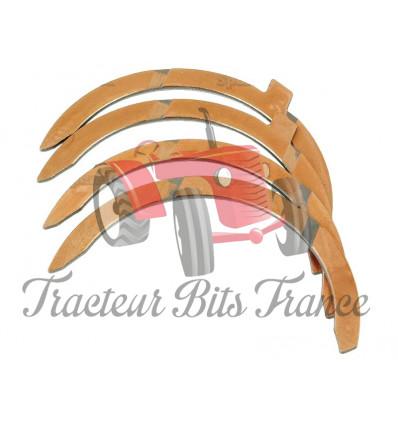 Set of 4 thrust washers STD