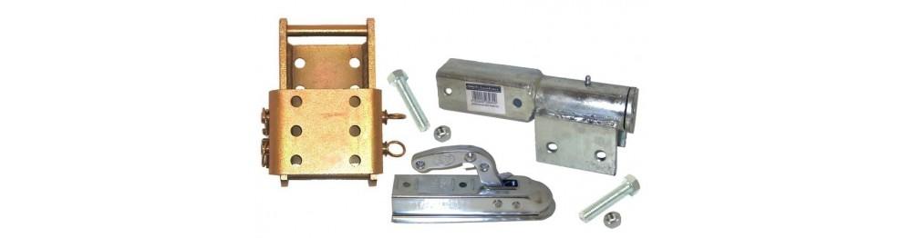 Adjuster drop plates
